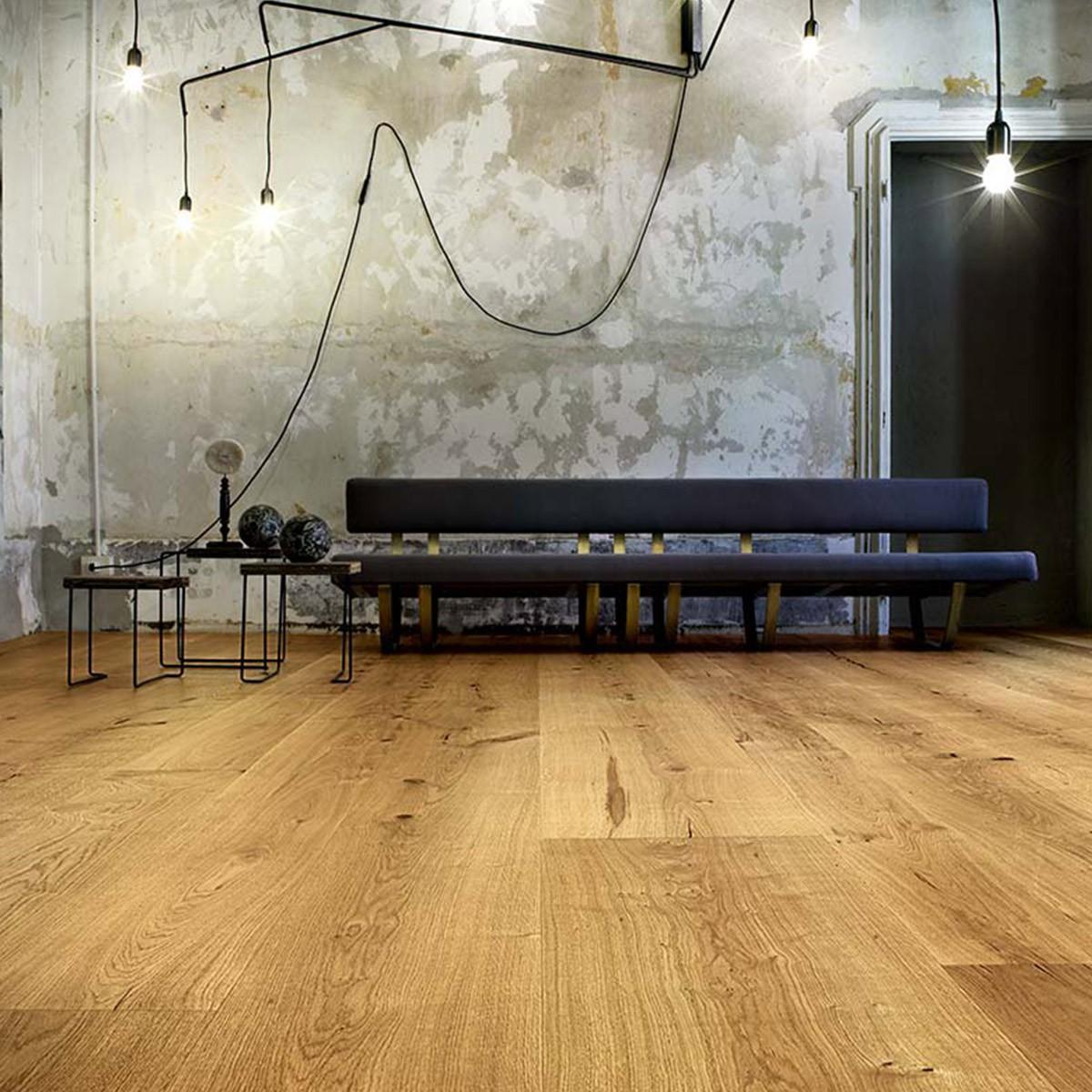 Dąb Puro Quattrocento Italiano - szerokie deski podłogowe - Forestile