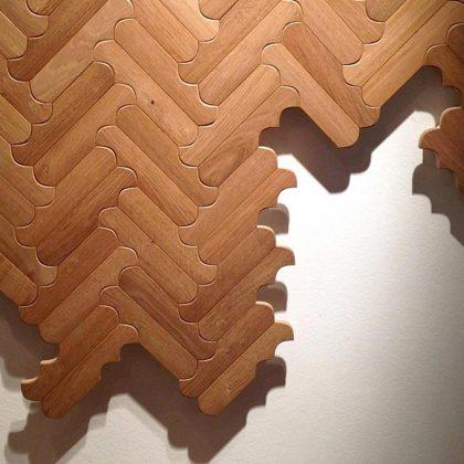 Biscuit N02 Civita - Patrycia Urquiola - podłoga drewniana - Forestile