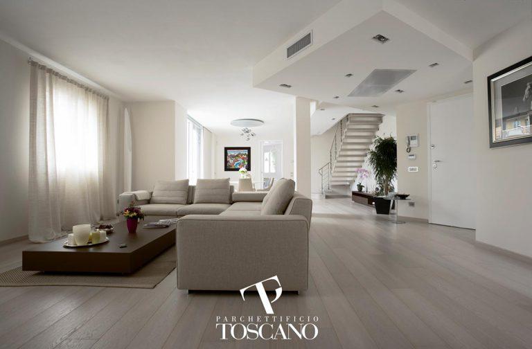 Dąb Unica Extrabianco Toscano - deski podłogowe - Forestile - podłogi drewniane