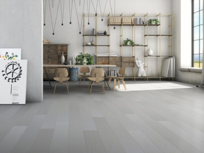 BIANCO ASSOLUTO parkiet drewniany, biały - Studio Forestile