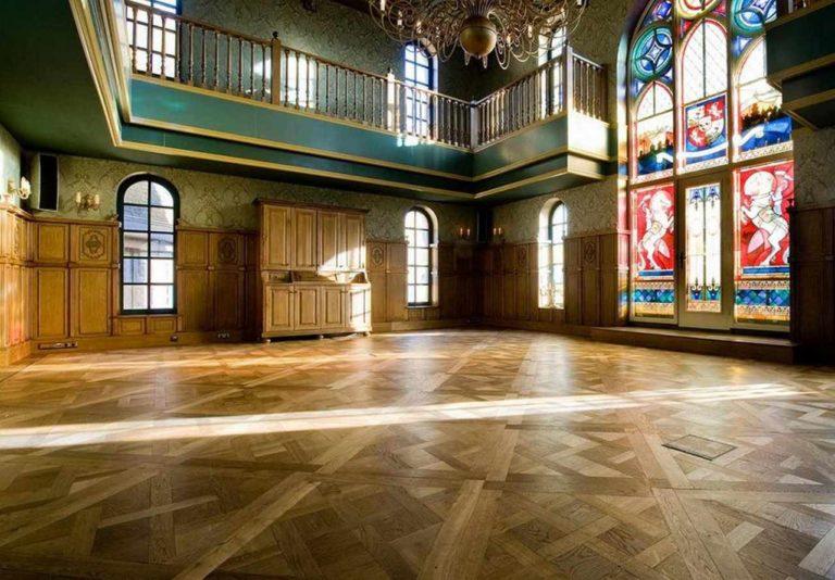 Dąb Podwójnie Przyciemniany Chapel Parket deski podłogowe Forestile
