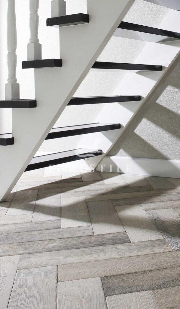 Dąb Bleached White Chapel Parket deski podłogowe Forestile