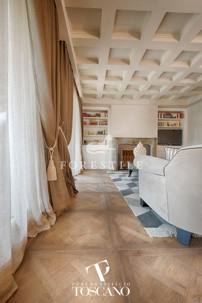 Quercia Versailles Brown Naturalizzante Toscano deski podłogowe Forestile podłogi drewniane