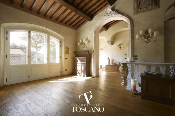 Vecchia Toscana Dark Walnut deski podłogowe Toscano podłogi drewniane Forestile