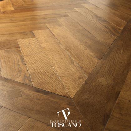 Dąb Anticato Walnut Toscano deski podłogowe podłogi drewniane Forestile