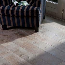 Dąb Podwójnie Przyciemniany Biały - Chapel Parket deski podłogowe Forestile