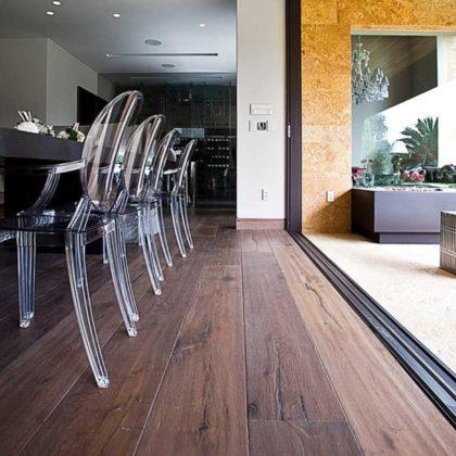 Debowe deski podłogowe PISA Reserve mareggiata zaprojektowane przez morze.