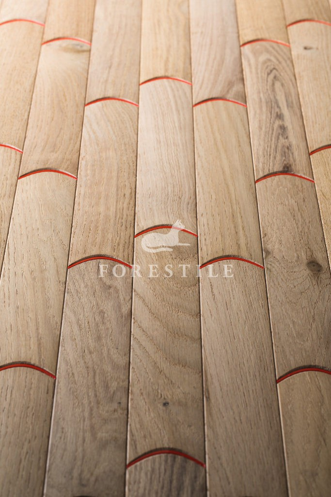 Ekskluzywne deski podłogowe Biscuit N0 5 small Civita - projekt Patricia Urquiola