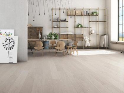 MONTBLANC parkiet drewniany, bielony dąb - Studio Forestile