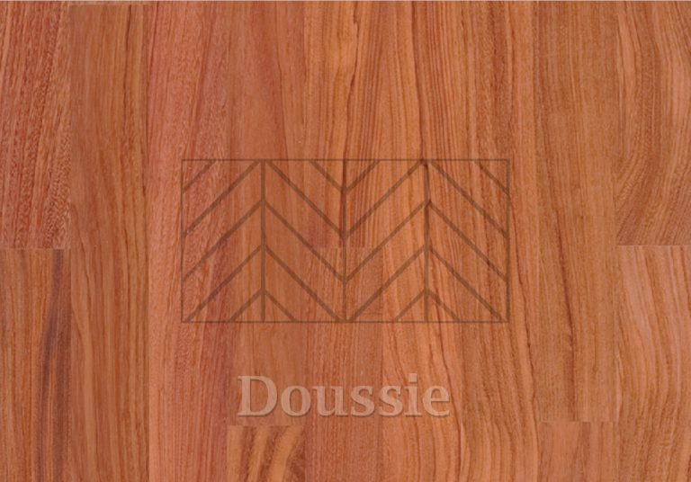Jodełka francuska Doussie - drewno egzotyczne z koolekcji Classica.