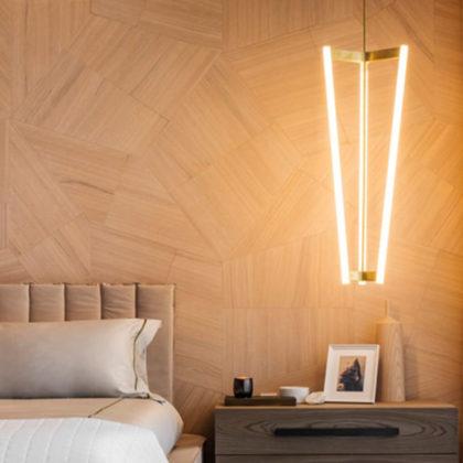 Ekskluzywny parkiet trapezoidalny SLIDE projektu designera Daniele Lago dla Listone Giordano