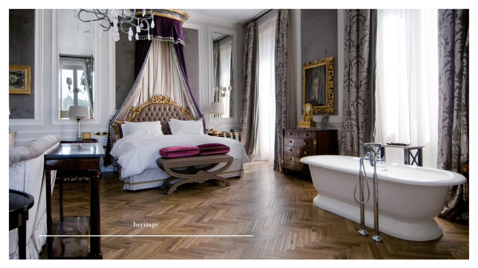 Parkiet Listone Giordano może być montowany naogrzewaniu podłogowym, orazwpomieszczeniach kąpielowych, łazienkach ikuchniach.