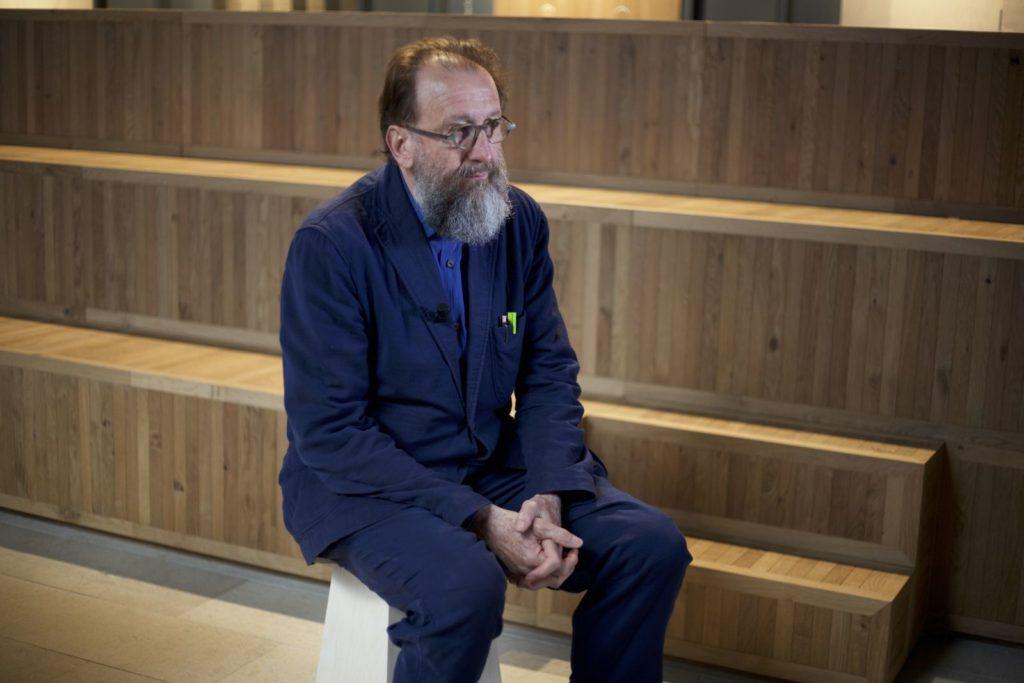 Michele De Lucchi - światowej sławy architekt, artysta idesigner.