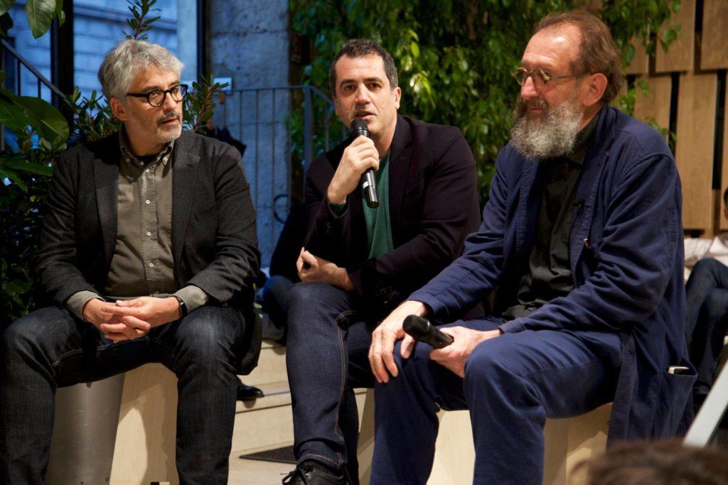 Milano Design Week - Spotkanie zMichele de Lucchi wListone Giordano Arena