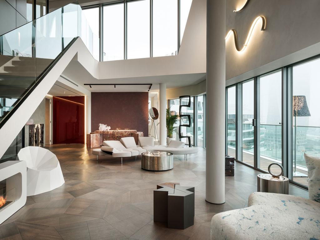 Najlepsi architekci zaufali trapezoidalnej podłodze autorstwa Daniele Lago
