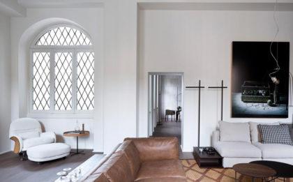 Grosaglie GRIGIO DI MARNA parkiet drewniany doskonały do salonu