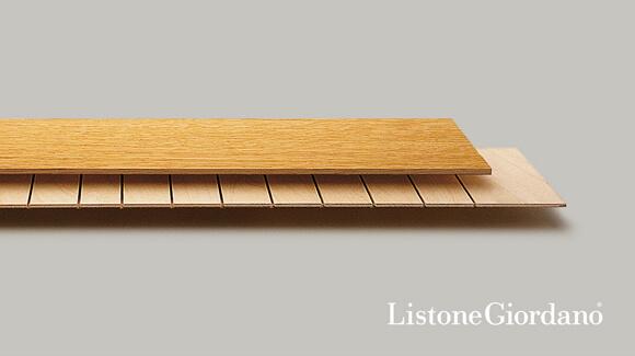 Podłogi drewniane Listone Giordano rekomendowane zogrzewaniem podłogowym.