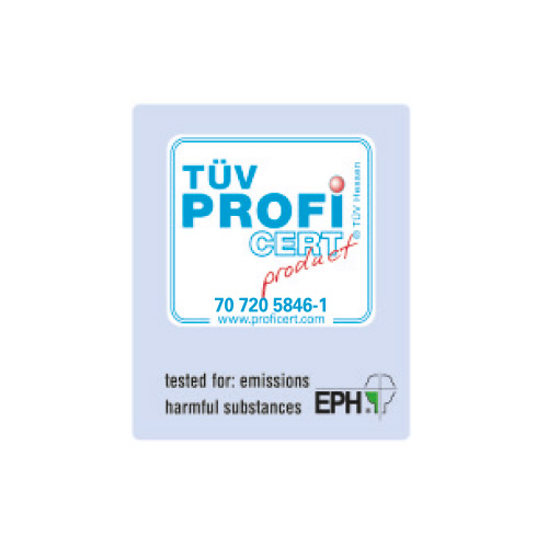Ogrzewanie podłogowe azdrowie - Certyfikat TUV Hessen