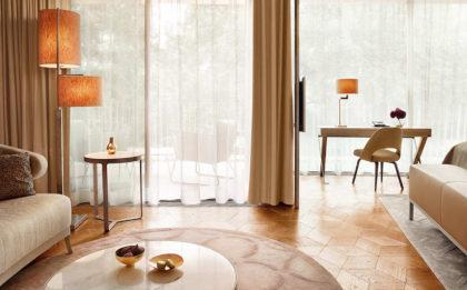 Kasetony drewniane HEXAGON z kolekcji Atelier Deco - wzory pałacowe