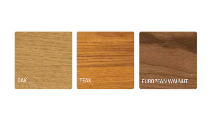 Kasetony drewniane VERSAILLES tonacje dąb, teak, orzech europejski.
