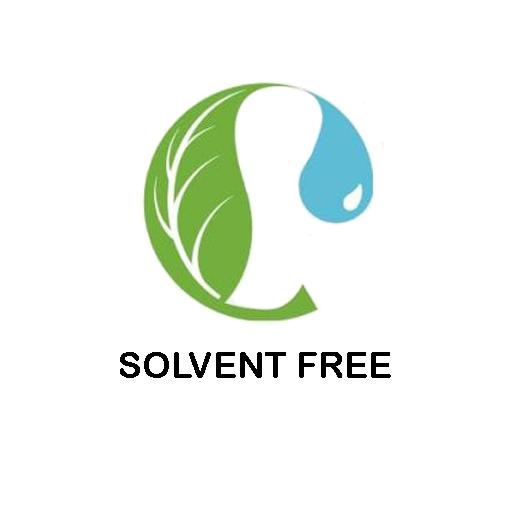 SOLVENT FREE certyfikat zaświadczający, żeprodukt niezawiera szkodliwych rozpuszczalników.